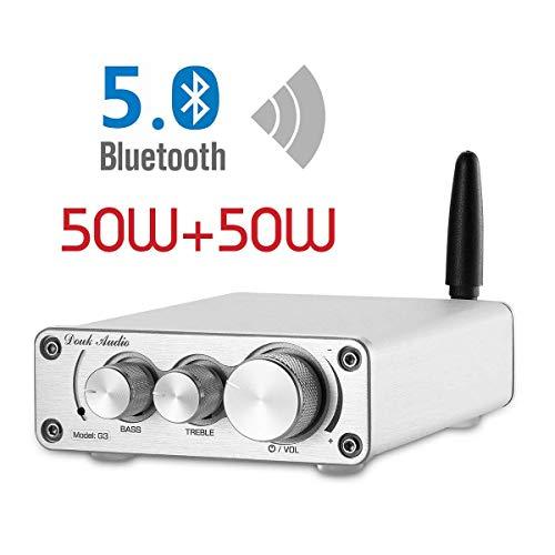 Nobsound TPA3116 - Amplificador de Potencia Bluetooth 5.0, Receptor inalámbrico, Mini Amplificador...