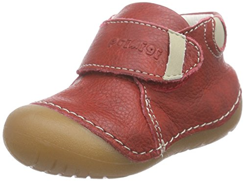 Primigi - Spot-e, Scarpine e pantofole primi passi Bimbo 0-24 Rosso (Rosso (Rosso))