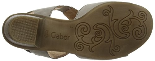 Gabor Scrumptious, Sandales Plateforme femme Marron (33 visone)