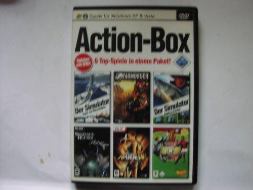 Action Box - 6 Top Spiele in einem Paket