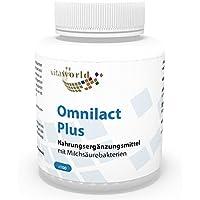 Vita World Omnilact plus 100 Kapseln Probiotikum Apotheken Herstellung 10 verschiedene Stämme Lactobacillus und... preisvergleich bei billige-tabletten.eu