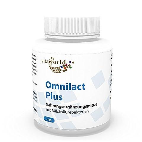 Vita World Omnilact plus 100 Kapseln Probiotikum Apotheken Herstellung 10
