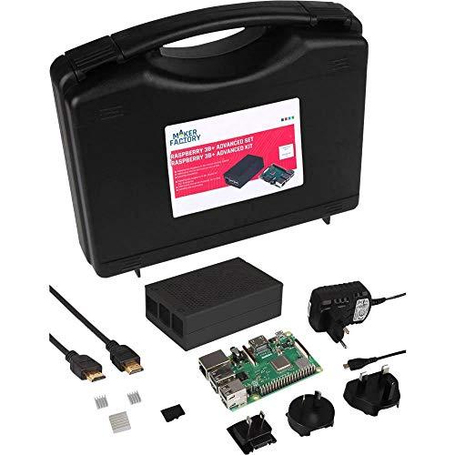 Raspberry Pi® 3 B+ Advanced Set 1 GB 4 x 1.4 GHz inkl. Gehäuse, inkl. Noobs OS, inkl. Kühlkörper, inkl. Netzeil, inkl. A (Soc-prozessor)