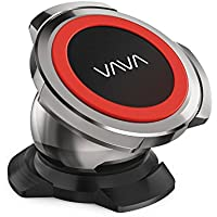 Car Phone Holder, VAVA Stainless Steel Magnetic Car Mount for Car Dashboard with a Super Strong Magnet for iPhone 6S / 7 / 7 Plus / 8 / 8 Plus / X / Samsung Galaxy S8 / S7 / S6 and More