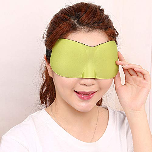 Sleep Shading Brille 3d Eye Stick Fatigue Relief Atmungsaktiv Nerv Coole Brille   grün