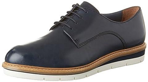 Tamaris Damen 23202 Oxford, Blau (Navy Leather 848), 40 EU