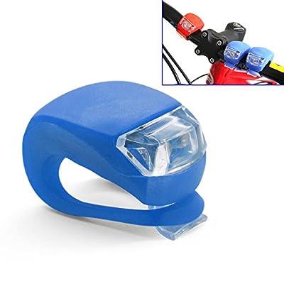 Grenhaven MINI LED Silikonleuchte Blau Rot Schwarz Weiß Mobile LED-Lampe Silikongehäuse Kinderwagenbeleuchtung Fahrrad Camping Wanderung Joggen von Grenhaven bei Outdoor Shop