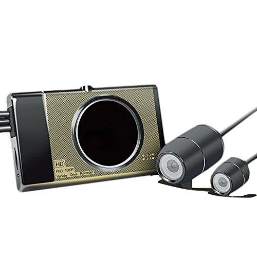 Starter Motorrad Recorder Locomotive Recorder mit versteckten Vorderen und hinteren Dual-Kameras