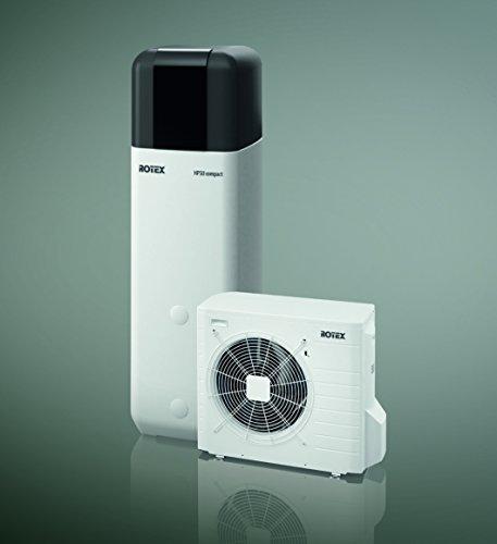 Wärmepumpe Luft/Wasser Rotex HPSU compact 508 H/C - 2C Paket 8 kW + 500L