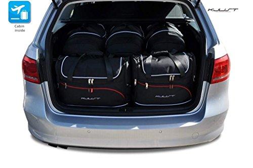 Preisvergleich Produktbild CAR FIT TASCHEN FÜR VW PASSAT VARIANT, B7, 2010-2014 KJUST