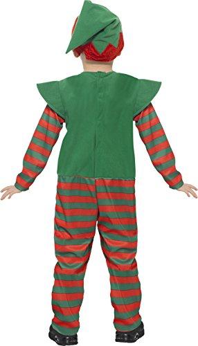 Imagen de smiffy 's 21489s elfo disfraz de para niños pequeños  alternativa