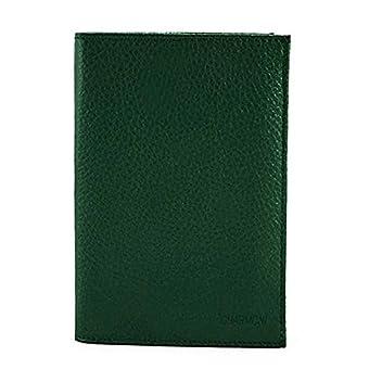 Charmoni–Tür-Papier Auto Führerschein grau Personalausweis aus Schweinsleder, Rindleder Tyson, grün (Grün) - Tyson_vt
