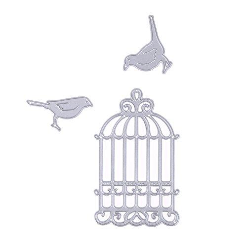 Demiawaking Birdcage with Birds ...