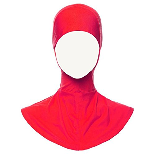 San Bodhi Damen Hijab-Kappe, elastisch, voll bedeckend 19 Onesize (Voll Motorhaube)