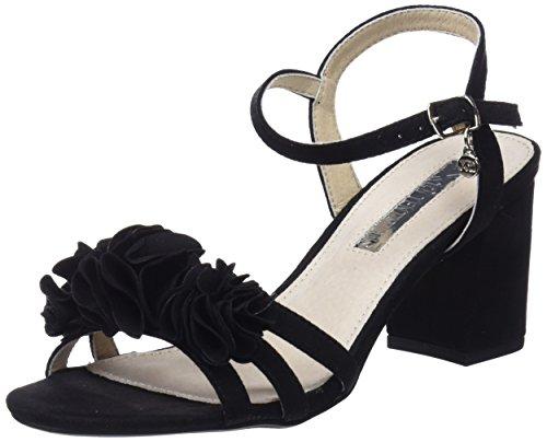 XTI 30714, Sandali con Cinturino alla Caviglia Donna, Nero (Black), 37 EU