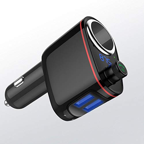 Silently Bluetooth FM-Transmitter, Auto MP3-Player Audio-Adapter, Auto-Kit