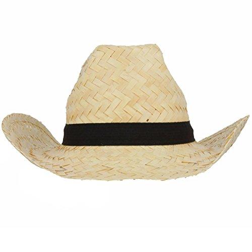 CUBA Herrenhut Strohhut, DER Cowboyhut zum Schutz vor Sonnenschein