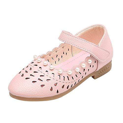 LILICAT Kinder Mädchen hohlen weichen Boden Baby Perle Schuhe Prinzessin Schuhe Coole Schuhe Kleinkind Kinder Mädchen Latin Tango Tanzschuhe Tanzschuhe Sportschuhe kleine Schuhe einzelne Schuhe