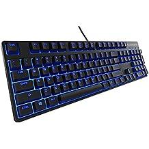 Steelseries Apex M500 - Teclado Gaming,con retroiluminación, color negro - disposición Inglés