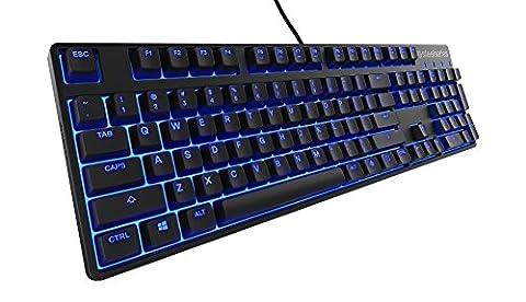 SteelSeries Apex M500 Gaming-Tastatur (Mechanisch, Cherry MX Rot-Schalter, Blaue Hintergrundbeleuchtung) - UK