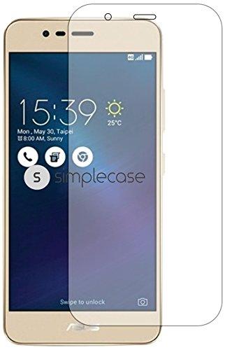Simplecase Premium Bildschirmschutz Größe: Asus ZenFone 3 Max aus 9H Panzerglas/ Echtglas/ Verb&glas - Transparent