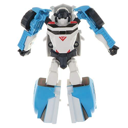 B Blesiya 2 In 1 Flexible Manuelle Transformatoren Roboter & Auto Spielzeug für Kinder pädagogisches Spielzeug - D (Spielzeug-auto-transformator)