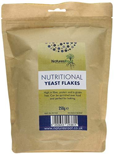 Natures Root Lievito Alimentare in Scaglie - Vegetariano e Vegano | Miglior Gusto | Qualità Premium (250g)
