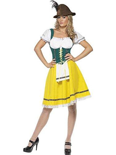 Kostüm Bayerischen grün/gelb, xl