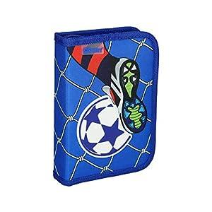 Spirit Estuche Escolar 3D Fußball Goal, 1 Cremallera