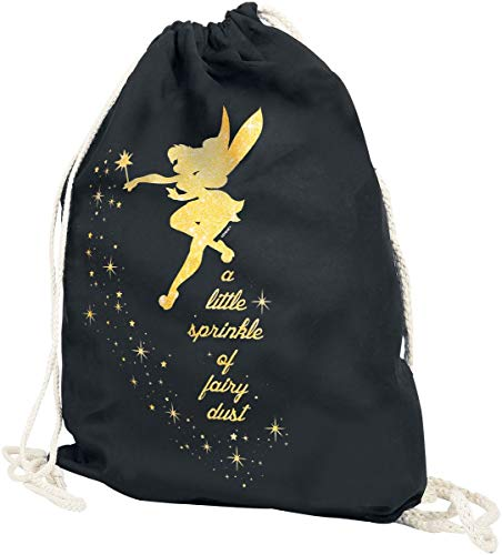 (Peter Pan Tinker Bell - Fairy Dust Turnbeutel schwarz)
