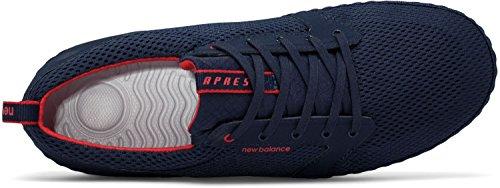 New Balance , Chaussures de football pour homme bleu marine/rouge