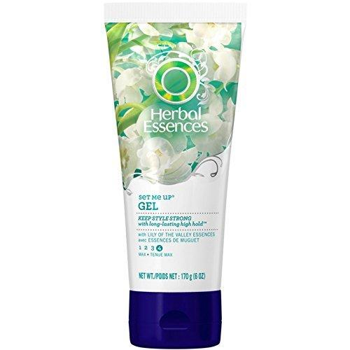 Herbal Essences - Gel capillaire Set Me Up - Tenue maximale - 175 ml (Lot de 3)