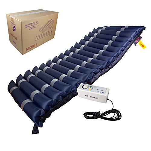 Mobiclinic, Mobi 3, Materasso antidecubito, Celle ad aria alternata e compressore, Blu scuro