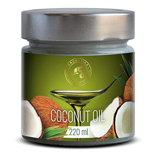 Aceite Comestible de Coco 220ml - Filipinas - 100% Puro & Naturale - Prensado en Frio - Aceite de...