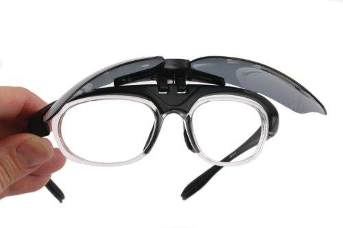 sconto più basso molte scelte di cerca le ultime Rapid Eyewear Occhiali da Sole E Vista Sportivi POLARIZZATI RX- Neri  Innovation Plus, per Tennis, Vela, Canottaggio ECC. Lenti intercambiabili -  ...