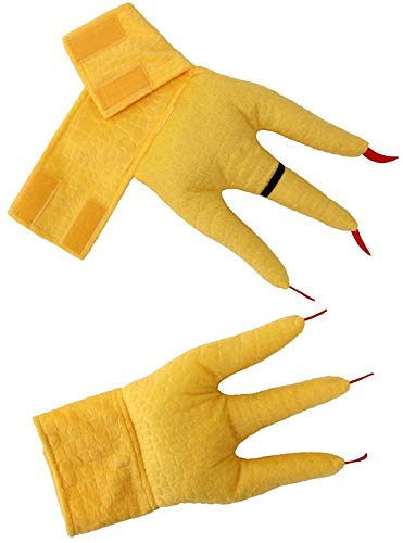 Elope Creature Cuffs Huhn Plüsch Kostüm - Huhn Maskottchen Kostüm
