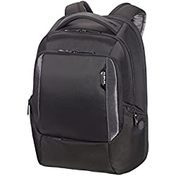 Samsonite Cityscape Tech LP Mochila Tipo Casual Expansible, 46 cm, 30 L, Color Negro