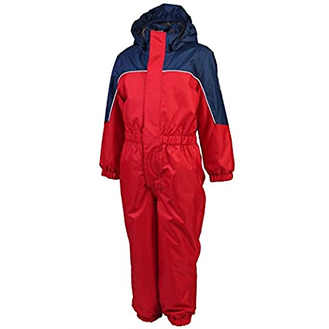 Color Kids Kazor Padded COVERALL, Fille, rot - marine