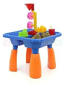 kinder spieltisch sand and water sandkasten tisch. Black Bedroom Furniture Sets. Home Design Ideas