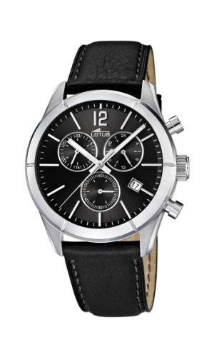 b6f669cf773f Lotus 15850 6 - Reloj cronógrafo de cuarzo para hombre con correa de ...