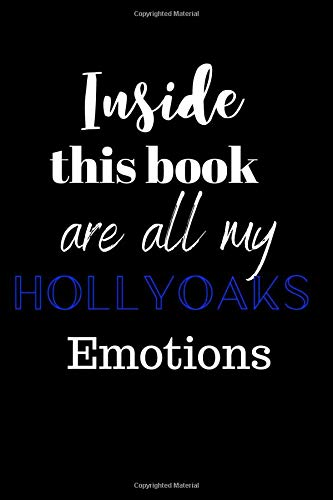 Funny Club (Inside This Book Are All My HollyOaks Emotions: HollyOaks Televison Show & Episode Tracker, Humor, Funny, Gag Gift, Fan Club Journal, Notebook or Diary)
