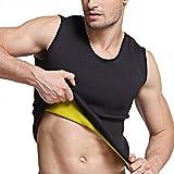 Tooklanet Gilet de Sudation Homme T-Shirt Débardeur Minceur Fitness - Fort Compression pour Perdez du Poids Facilement