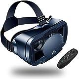 Occhiali VR With Telecomando Compatibile Occhiali VR 3D con tutti gli Smartphone come Galaxy, Android, Huawei, da 5,0 a 7,0 Pollici