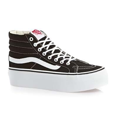 scarpe vans con la suola alta
