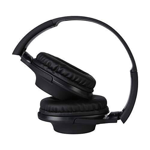 Rhythm&Blues A300 On-Ear Wired Headphones with mic (Black) Image 4