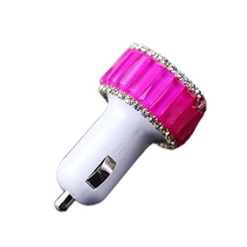 EVTECH (TM) Universal 2 ampères / 1 ampère double chargeur de voiture USB pour Smartphones Téléphones Mobiles appareil numérique tablette tactile GPS PDA (100% artisanal)