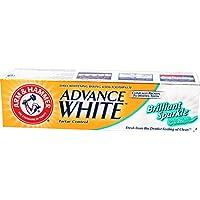معجون اسنان ادفانس وايت بريليانت سباركل، 115 غرام من ارم اند هامر، أبيض
