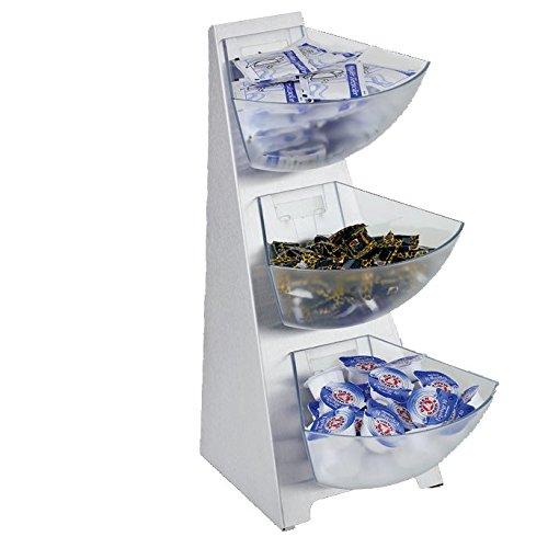 neoLab 8-1201 Tischbehälter Multi Rack 3-stufig, 3 x circa 1 L