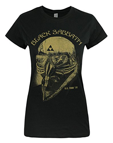 Damen - Official - Black Sabbath - T-Shirt Black