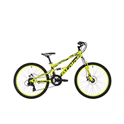 "Atala Mountain Bike 24"" Storm MD 21V NeonYellowBlackMatt"